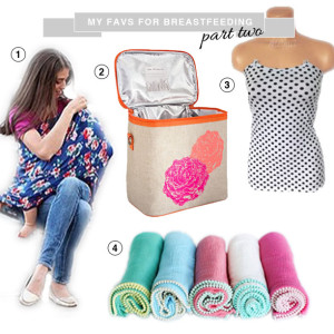 things that help mothers breastfeed