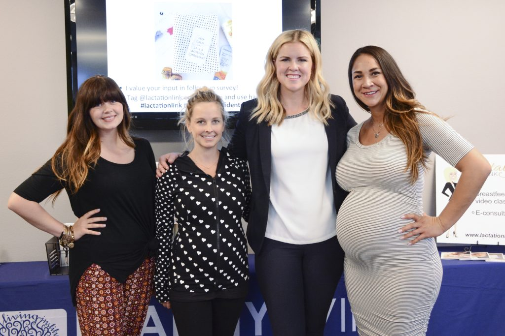 lactation consultant with clients