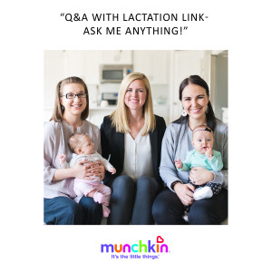 Q&a with lactation link advertisement