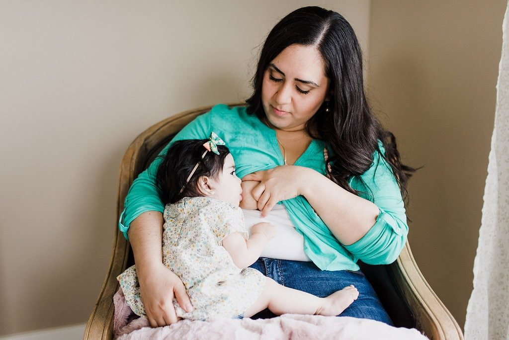 when to start solids via lactation link