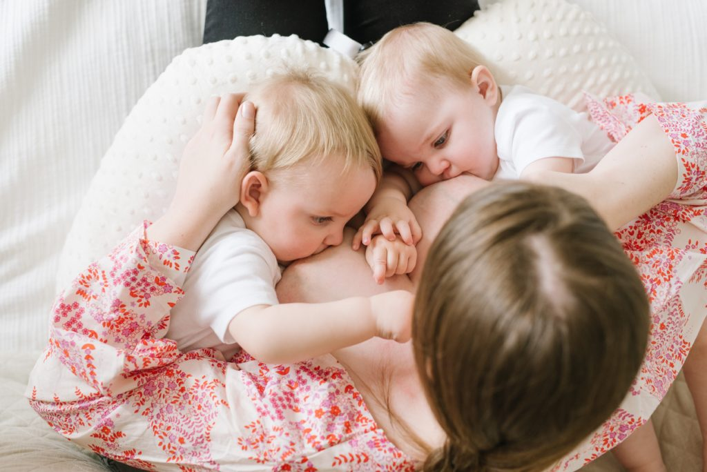 Best Positions For Breastfeeding Twins With Twinz Pillows