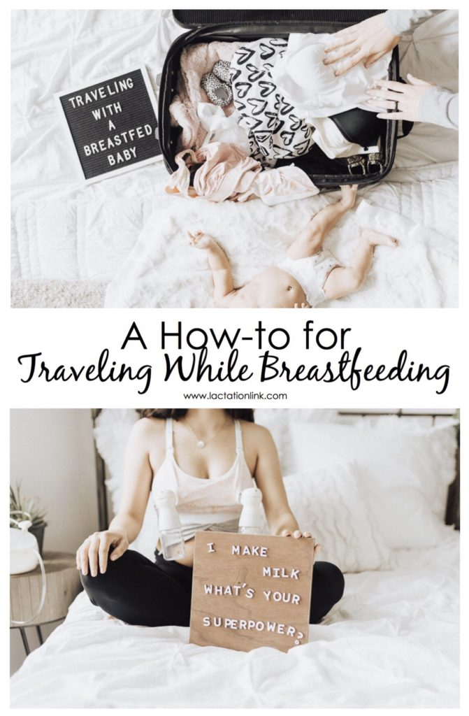 Traveling while breastfeeding doesn't have to be stressful! Scroll down to find my best tips on traveling with a breastfed baby that will make your summer travel plans a complete breeze! | Lactation Link